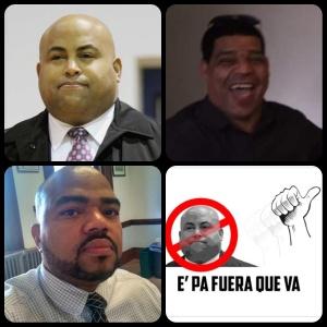 Alcalde Dan Rivera, Theodoro Rosario y Orlando Maldonado